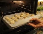 Маслени бисквити със сусам 8
