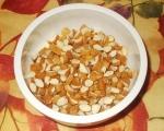 Сладкиш с бадеми, карамел и шоколад 2