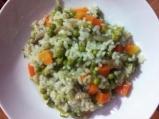 Ориз със задушени зеленчуци