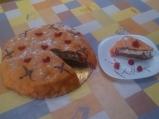 Марципанова малинова торта