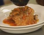 Пилешка яхния с чушки 6