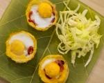 Яйца в картофени гнезда 5
