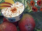 Мус с манго и кисело мляко
