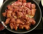 Пикантни свински късчета  4