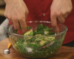Картофена салата със спанак 5