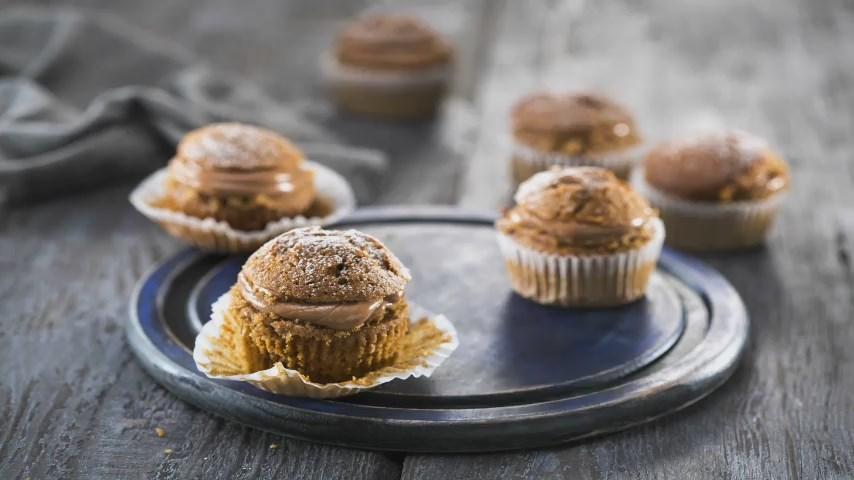 Image result for Орехови кексчета с кафе и шоколад