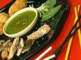 Скумрия с оризови крокети