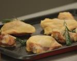 Пилешки бутчета по шотландски с йоркширски пудинг 2