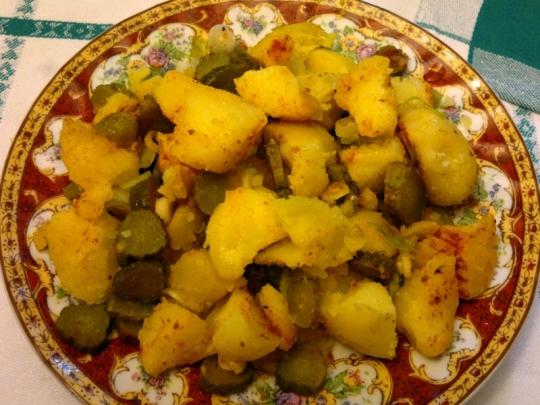 Попова картофена салата