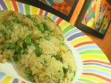 Ориз с грах и къри
