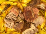 Печено свинско с картофи