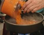 Морковен бульон с ньоки от извара 2