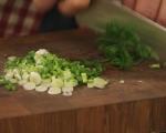 Омлет с пресен лук по японски