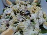 Италианска салата с трицветни фусули