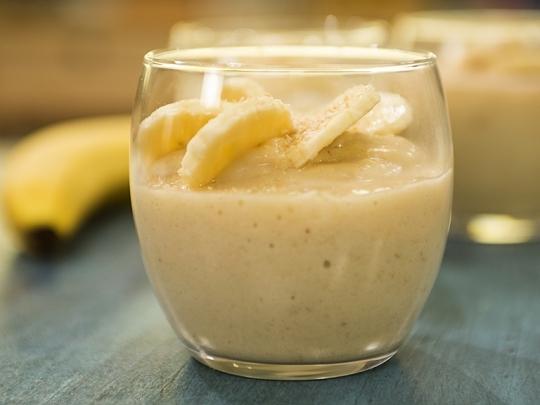 Студен бананов крем