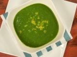 Постна крем супа от спанак и грах