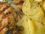 Пилешки гърди със салвия