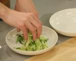 """Вегетарианска """"паста"""" с гъбени кюфтета 6"""