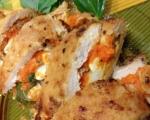 Пълнено пилешко с морковен мус 4