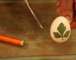Шарени яйца в люспи от лук 2
