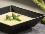 Крем супа от аспержи с пармезан