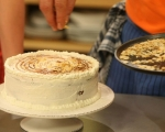 Торта с ягоди и мак 22