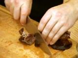 Риба в сладко-кисел гъбен сос 3