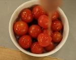 Картофи с чери домати на фурна 3