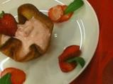 Ванилова туиля с ягодов крем