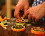 Минитарт с моркови и тиквички 10