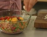 Терин от пилешко със зеленчуци 5