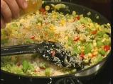 Ориз с бамя и тиквички 4
