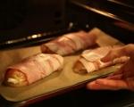 Пилешки гърди в бекон 5