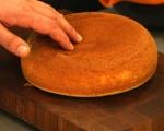 Лесна торта с шипков мармалад 4