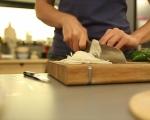 Палачинкова торта със зеленчуци и сирена 3