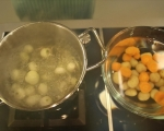 Пилешки шишчета с картофи и гъби 5