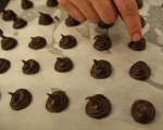 Шоколадови профитероли 5