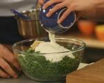 Спаначена салата с кисело мляко 3