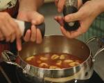 Супа с тортелини  3