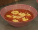 Супа с тортелини  4