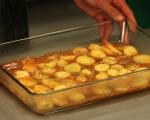 Печена риба с картофи и маслини 5