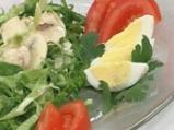 Спаначена салата с млечно-меден дресинг
