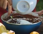 Шоколадов крем с кокос и портокал 2