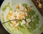 Салата от яйца и авокадо 3