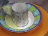 Крем супа от праз със спаначено пюре 5