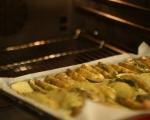 Печени картофи с копър и чесън 2