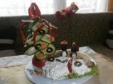 Новогодишна салатка за деца