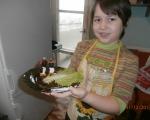 Новогодишна салатка за деца 3