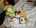 Новогодишна салатка за деца 2