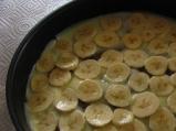 Бисквитена торта с ванилов крем и банан